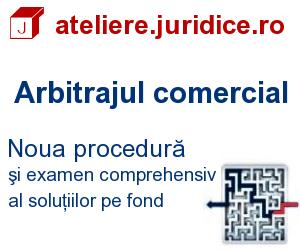 Arbitraj comercial Romania