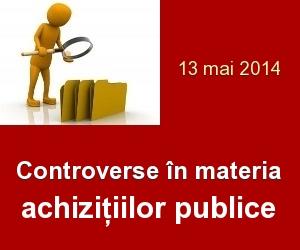 Controverse in materia achizitiilor publice