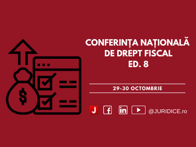 Conferinta Fiscal Timisoara