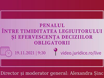 Conferinta Penal Alexandra Sinc