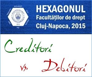 CREDITORI VS. DEBITORI – PERSPECTIVA HEXAGONULUI
