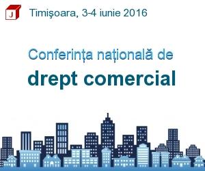 Conferinta nationala de drept comercial 2016
