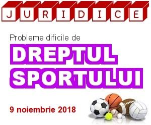 DREPTUL SPORTULUI 2018 (ed. 3)