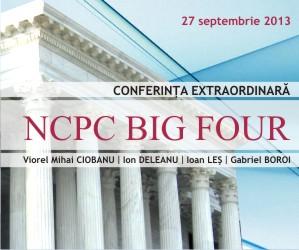 NCPC BIG FOUR