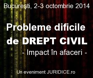 Probleme dificile de drept civil