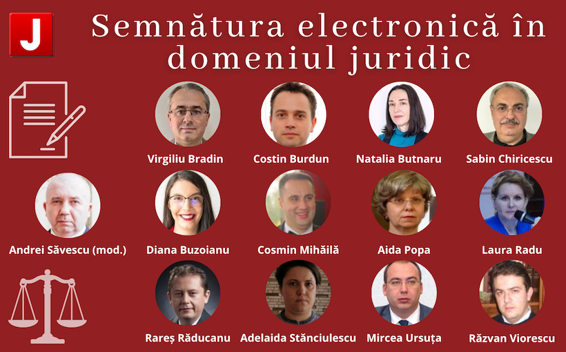 Semnatura electronica in domeniul juridic