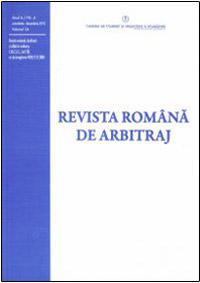 Revista Romana de Arbitraj
