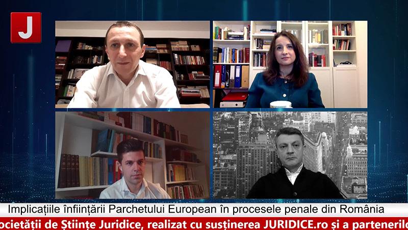 Implicațiile înființării Parchetului European în procesele penale din România