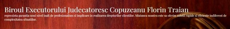 Executor judecatoresc Florin Traian Copuzeanu