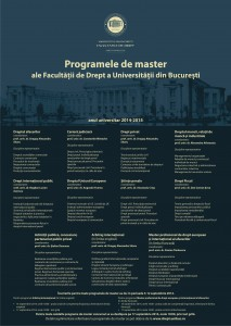 Afis mastere 2014-2015