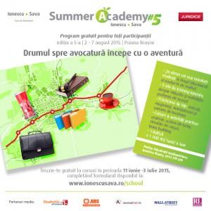 IONESCU ŞI SAVA Summer Academy