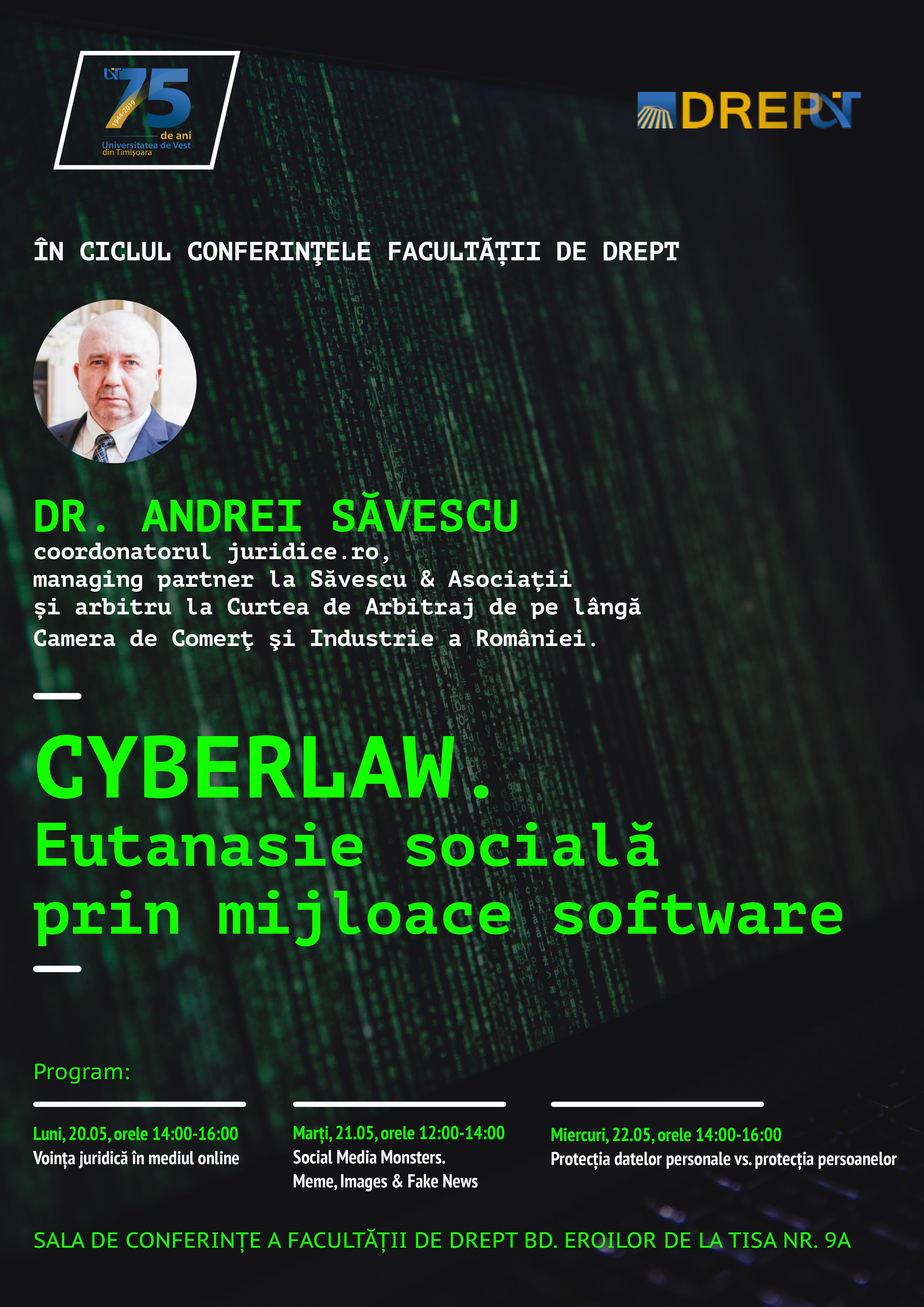 CYBERLAW Andrei Savescu Timisoara