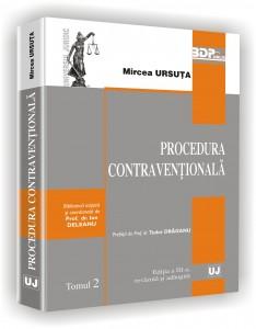 MIRCEA URSUTA - Procedura contraventionala ed. 3